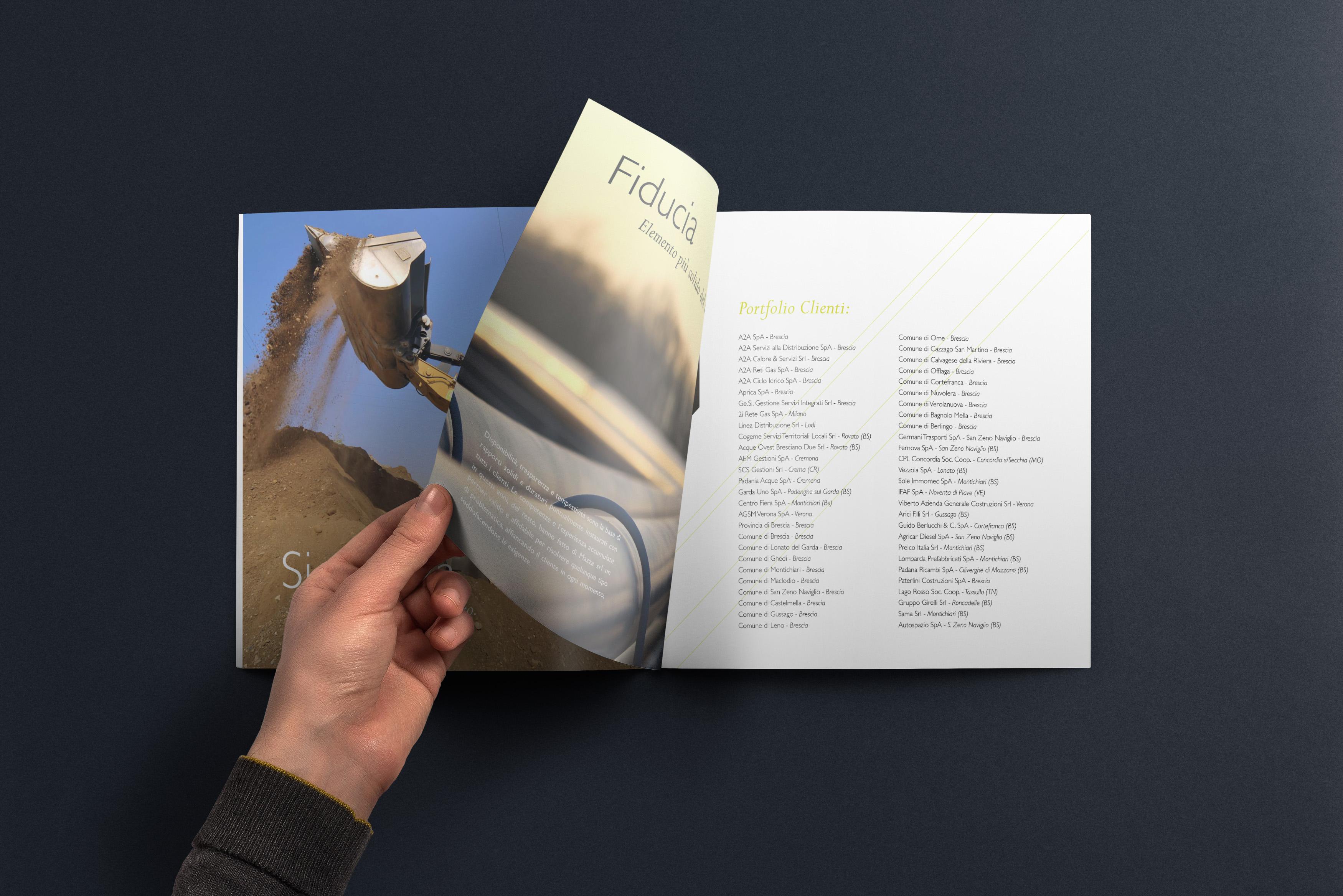 Moodie Comunicazione - brochure Mazza Srl